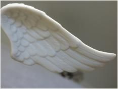 Déco à suspendre ! : Aile d'Ange Biscuit à suspendre