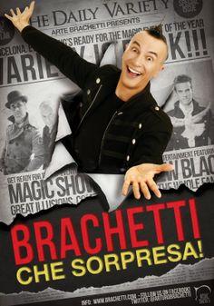 Le magie di Arturo Brachetti, oggi il più grande attore-trasformista del mondo, all'Augusteo di Napoli