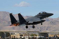 "BLUE TEAM LAUNCH: RED FLAG 16-2 McDonnell Douglas F-15E Strike Eagle USAF 89-0474 336th FS ""Rocketeers"" 4th FW, Seymour Johnson AFB, NC"