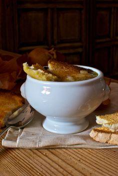sopa de cebolla, un clásico de la cocina francesa con #Thermomix