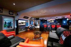 images of sport themed basements | Buy it ^ www.electronichouse.com