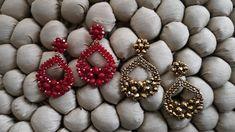 Beaded Earrings, Beaded Bracelets, Beaded Jewelry Patterns, Key Necklace, Fresh Vegetables, Beaded Flowers, Ornament Wreath, Beautiful Earrings, Seed Beads