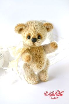 Artist bear OOAK teddy Paul  artist bear teddy von NatalKaCreations