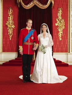 #Royal #wedding portrait of the new #Duke and #Duchess of #Cambridge