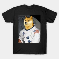 Dogecoin Doge HODL To the Moon Crypto Meme - Dogecoin - T-Shirt | TeePublic Safety Slogans, Health And Safety, Doge, Disney Characters, Fictional Characters, Shirt Designs, Random, Memes, T Shirt