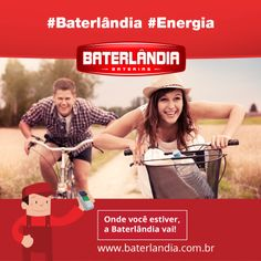 Recarregue suas baterias! O feriado vem aí!! #Baterlândia #Energia