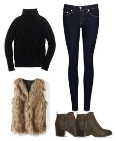 """Untitled #473"" by hannahjoyjacob on Polyvore featuring J.Crew, rag & bone/JEAN, Office, women's clothing, women's fashion, women, female, woman, misses and juniors"