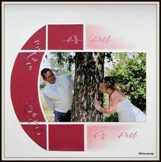 album scrapbooking 30x30 jardin secret fuchsia et vert anis : Albums photos par