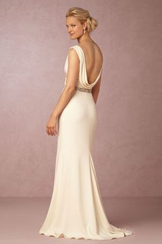 BHLDN Livia Gown in  Bride Wedding Dresses at BHLDN
