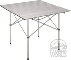 Space savings table for outside the RV.  Makeing s'mores, setting up for BBQ, just extra space!