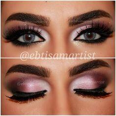 Pink Purple Smokey Eye