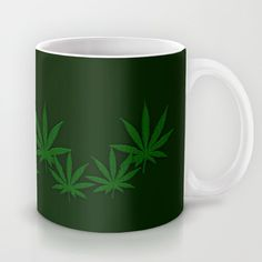 Weed Coffee Mug by leatherwooddesign Buy Weed, Kitchen Items, Diy Gifts, Coffee Mugs, Board, Design, Life, Products, Coffee Cups