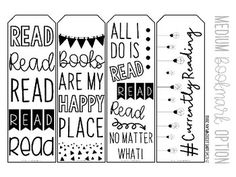Printable Bookmarks by LiveLoveLessonplan Printable Book Marks, Free Printable Bookmarks, Diy Bookmarks, Cross Stitch Bookmarks, Reading Quotes, Book Quotes, Book Marks Diy, Library Posters, Bookmark Printing