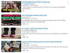 sneaker youtube