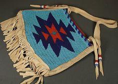 LAKOTA Sioux Beaded Pouch -*-*-63+