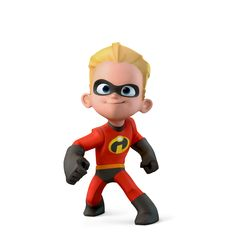 Disney Infinity: Dash (The Incredibles) Disney Pixar, Disney Toys, Disney Cartoons, Baby Disney, Disney Art, Disney Junior, Disney Infinity Characters, Pop Marvel, The Incredibles 2004