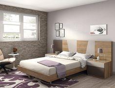 Dormitorio moderno (168 – D8) - Muebles CASANOVA