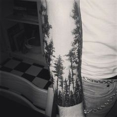 """Robert Frost once wrote of """"the woods are lovely, dark and deep"""" but at the time he did not know that eventually the woods would also make for some pretty impressive tattoos. Ranging from forest creatures to beautiful landscapes, here... [ read more ]"""