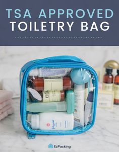 Items are Allowed in My TSA Approved Clear Toiletry Bag? Items are Allowed in My TSA Approved Clear Toiletry Bag? Travel Essentials For Women, Travel Bags For Women, Packing Tips For Travel, Travel Hacks, Carry On Bag Essentials, Packing Cubes, Travel Deals, Carry On Packing, Europe Packing
