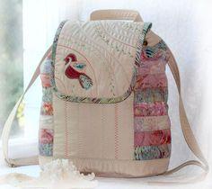 Рюкзак с птичкой - рюкзак,рюкзачок,рюкзак женский,рюкзак ручной работы