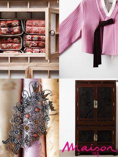 korean traditional style pillows / hanbok jeogori(top) / korean traditional style brooch / korean traditional style furniture #hanbok #korea