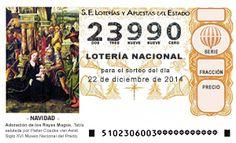 Navidad 2014 Lotería para toda la familia 23990 Doña Manolita, serie 18, fracción 8