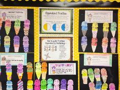 Equivalent Fractions Bulletin Board