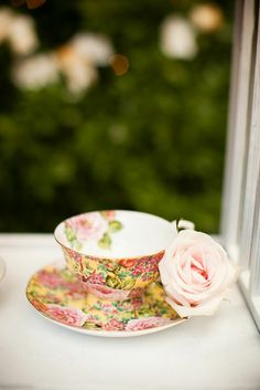 chintz tea cup