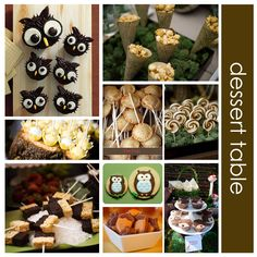 woodland baby shower ideas - Google Search