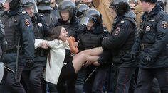 Young Russians who protested over the weekend may not have vented their fury directly at Vladimir Putin, but the President certainly took note of the message.