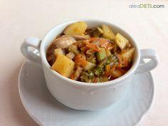 La dieta ALEA - blog de nutrición y dietética, trucos para adelgazar, recetas para adelgazar: Cazo depurativo de invierno