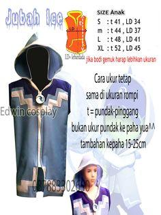 Jubah hoodie boboiboy ice