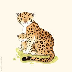 J is for Jaguar Watercolor painting Watercolor by joojoo on Etsy