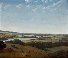 Landschap in Pernambuco met rivier 1668