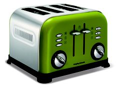 This Morphy Richards Oasis Green toaster would match my kitchen perfectly! #green #toaster