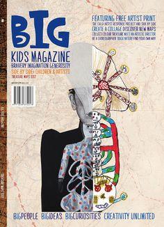 BIG Kids Magazine: Treasure Maps Revealed! The Second BIG Edition.
