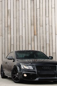 Check this Beast Audi fully blacked out Bugatti, Maserati, Ferrari, Audi A5 Coupe, Rolls Royce, My Dream Car, Dream Cars, Dream Life, E90 Bmw