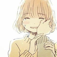 Don't cry my beautiful lady. Manga Anime, Manga Art, Kawaii Anime Girl, Anime Art Girl, Fanart, Pretty Art, Cute Art, Desu Desu, Manga Drawing Tutorials