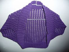 Need to learn to crochet to make this  Crochet bolero pattern