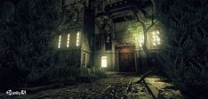 HE - Abandoned Manor Exterior v.1.1 - Asset Store