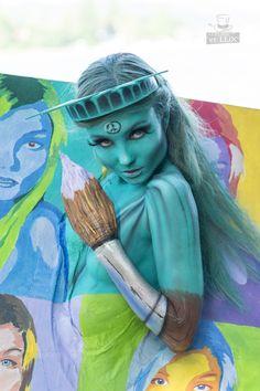 WBF 2014 | SFX Bodypainting Qualification 'Pop Art'  Photography: Atelier 'et Lux', Artist ID208: Ralph Torsten Kolmer - Germany