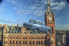 Arthur Weasleys flying car, Harry and Ron use it to get Hogwarts after Dobby closed the barrier at 9 3/4