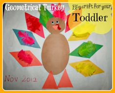 Toddler craft for Thanksgiving day