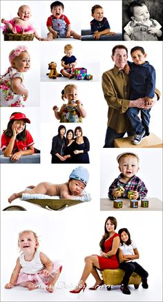 A Montage of recent photoshoots.  Marc Weisberg is a photographer based in Orange County, California specializing in magazine style children's portraits.
