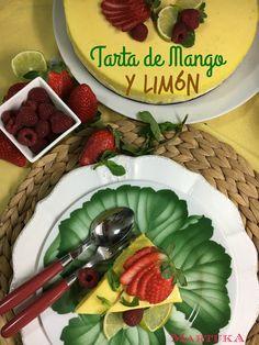 Tarta De Mango Y Limón