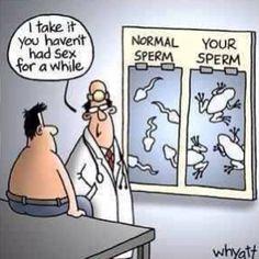 "@theelilmanny's photo: ""Lol #word!! Good little humor to start my morning off :) #nosex #sperm #tadpole #frog #funny #gross"""