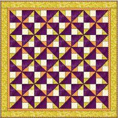 Purple Illusions Quilt