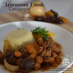 Moroccan Lamb Casserole - Cooking In the Chaos - Slow Cooker Recipe