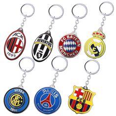 מועדון כדורגל מפתח שרשרת כתר סגסוגת מתכת מפתח טבעות לנשים גברים Chaveiro תכשיטי Keychain רכב מחזיק מפתחות מזכרות