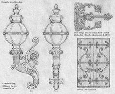 Wrought Iron Sketches by ~Built4ever on deviantART